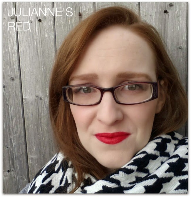 Julianne's Red L'Oréal Paris Colour Riche Exclusive Reds