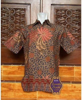 Model Baju Kerja Batik Danar Hadi