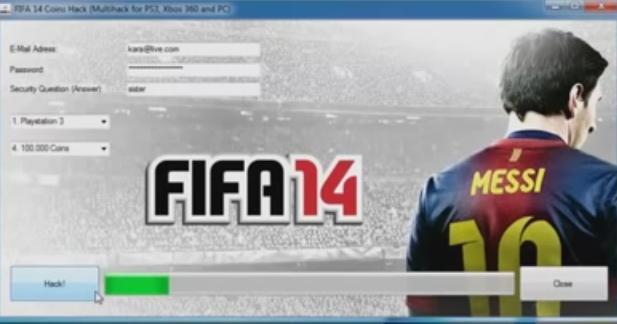 FIFA 14 Hack Tool Download - Download legal