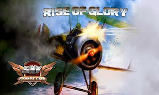 Screenshots of the Sky Gamblers Rise of Glory for Android tablet, phone.