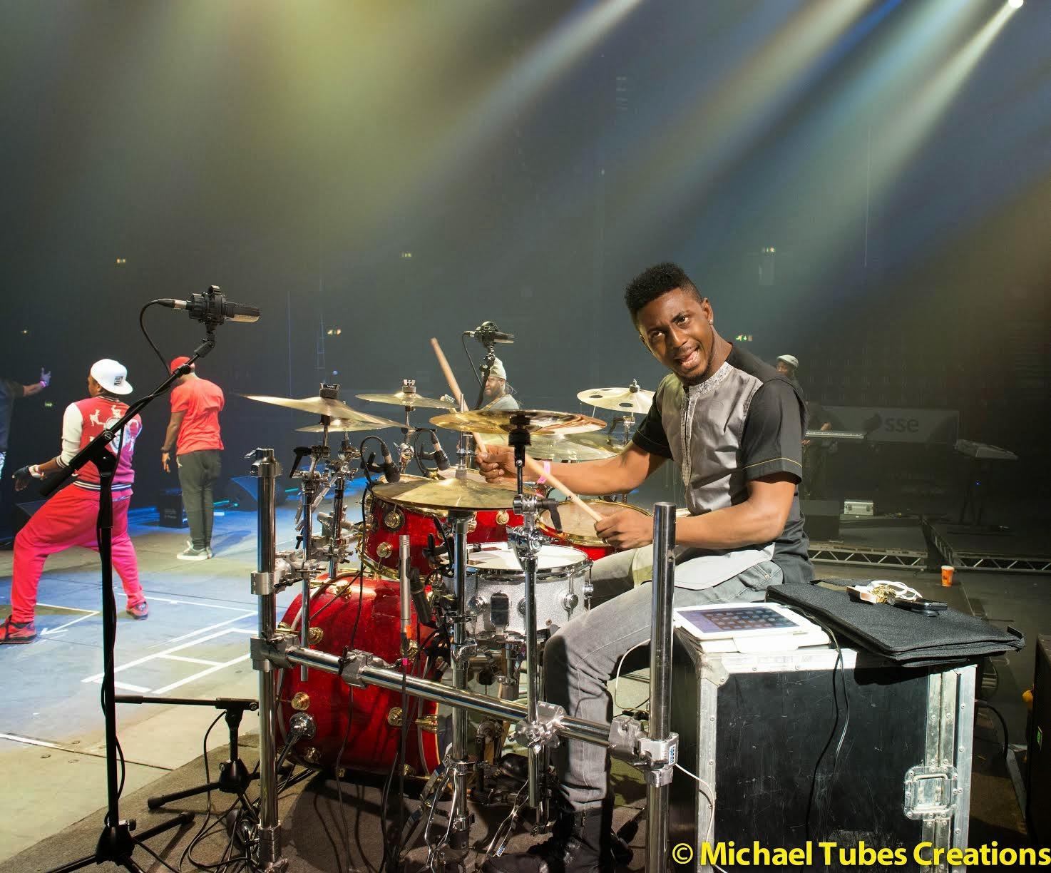 Superstar drummer 'Papii J' delivers 'BASS' to UK Fans