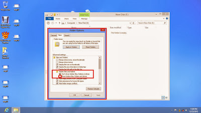 Learn how to show hidden files and folders in windows 8 step15