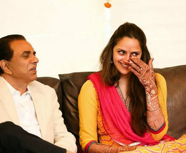 Ahana With Dharmendra