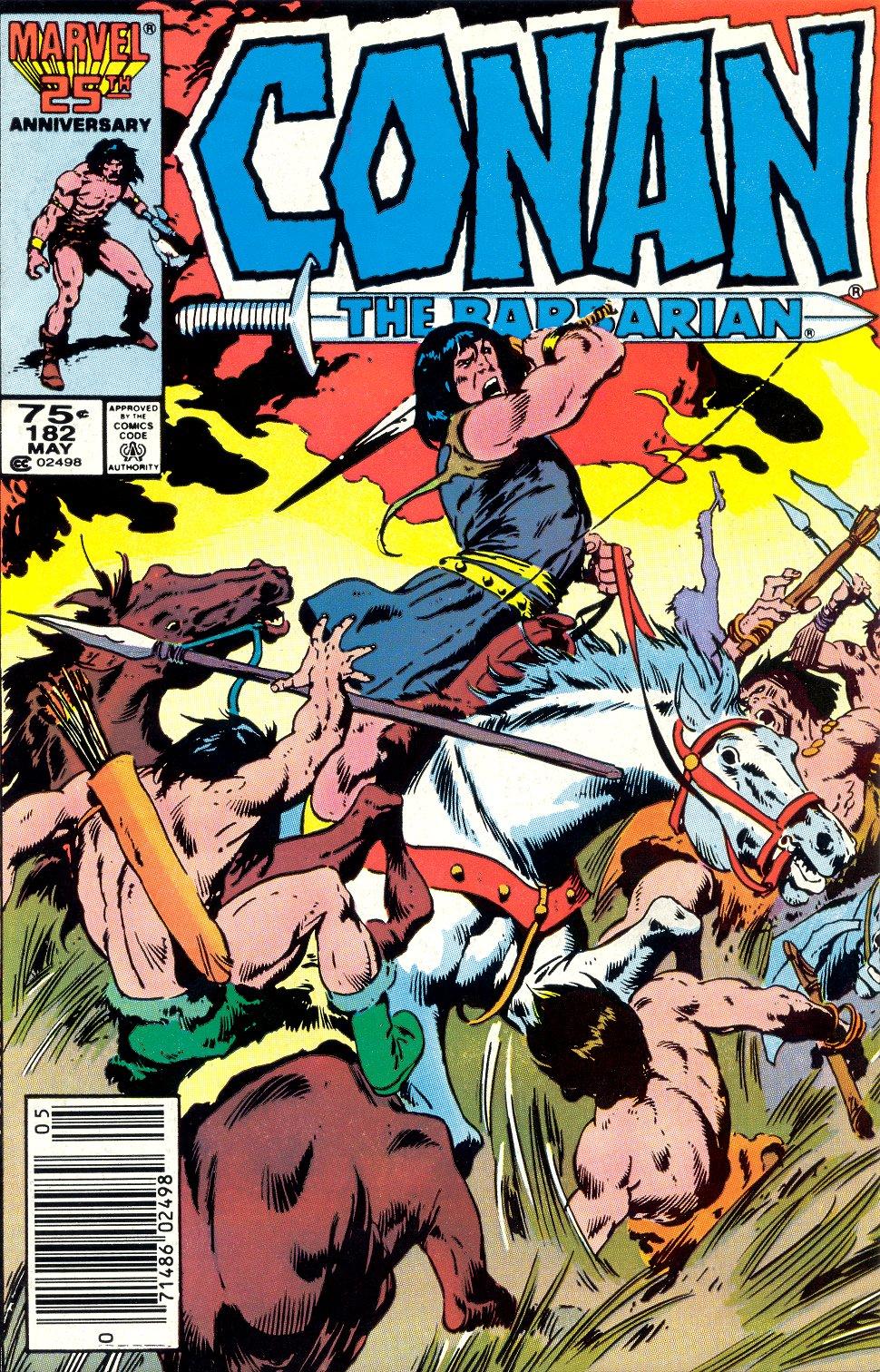 Conan the Barbarian (1970) Issue #182 #194 - English 1