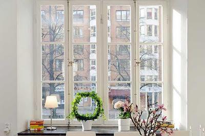 ventana apartamento sueco
