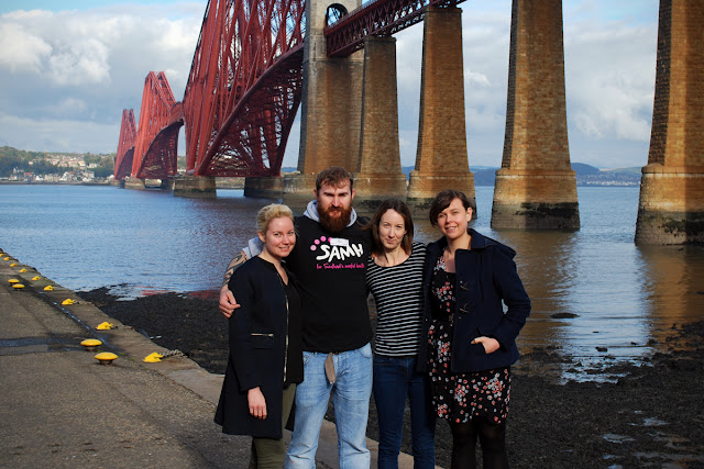 Scottish Association for Mental Health Forth Bridge abseil