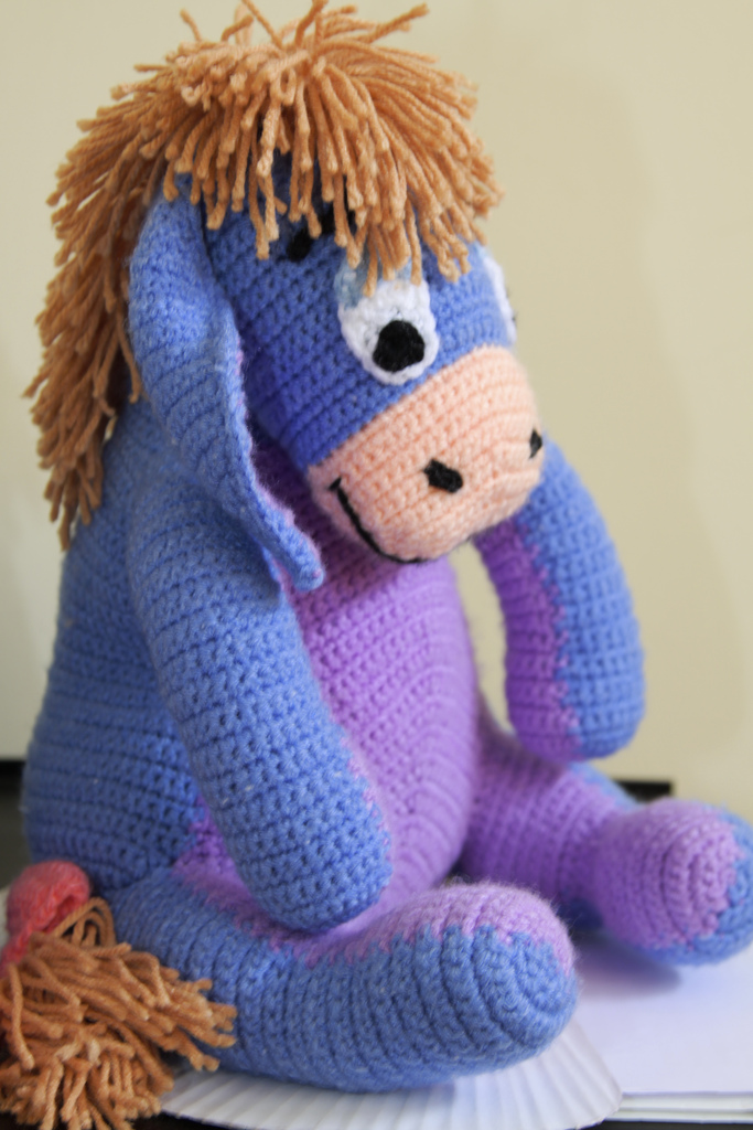 Eeyore plush Toy crochet
