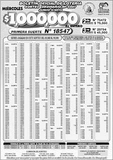 boletin oficial loteria nacional sorteo 5807