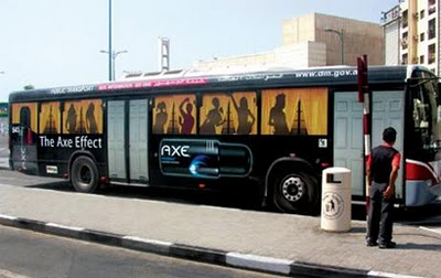 Amazing advertising on buses 11