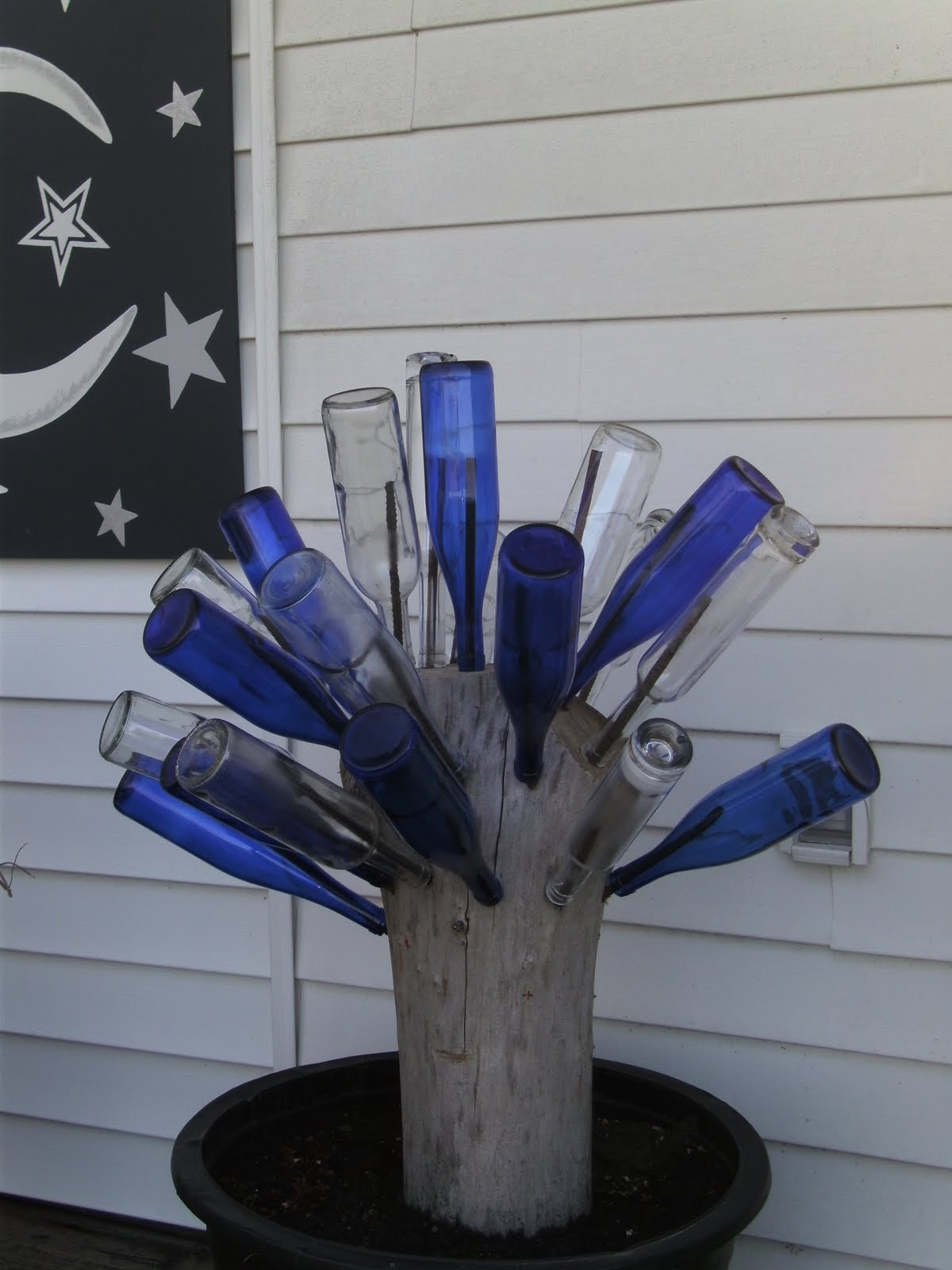 Making home another wine bottle tree really for How to make a wine tree