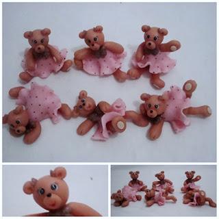 Ursinhas de biscuit