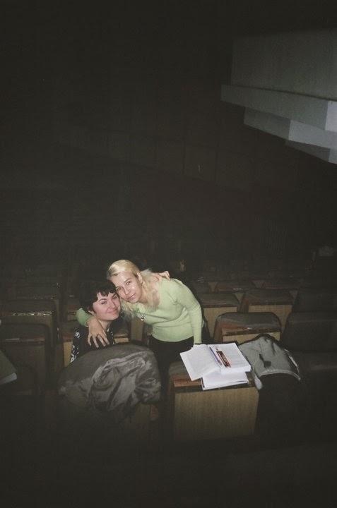 Olivia Marcov, Alexandra Chitea, 2009, amfiteatrul Aparatorii Patriei, Drept, USH