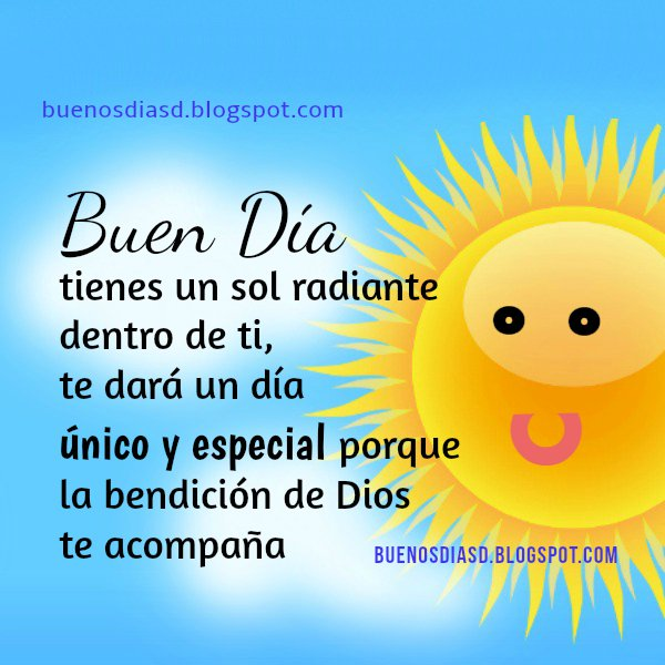 Saludos del nuevo día, frases buenos días, feliz mañana, inicio del día con palabras de aliento.