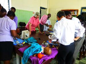 Neonatal Resuscitation class in Nigeria
