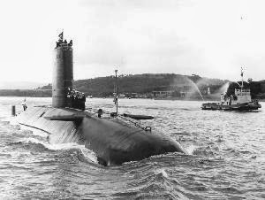 HMS Conqueror - Great Britain