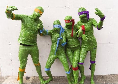 Cosplay fail de las Tortugas Ninja