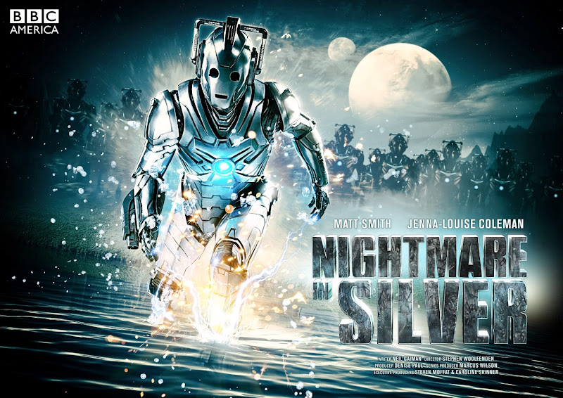 Doctor Who Nightmare in Silver season 7 TV poster