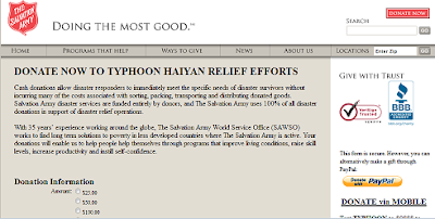 https://donate.salvationarmyusa.org/TyphoonHaiyan