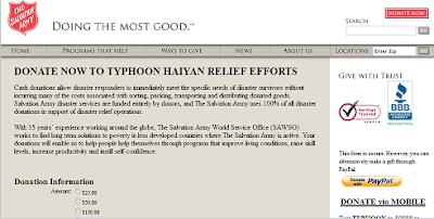 https://donate.salvationarmyusa.org/TyphoonHaiyan