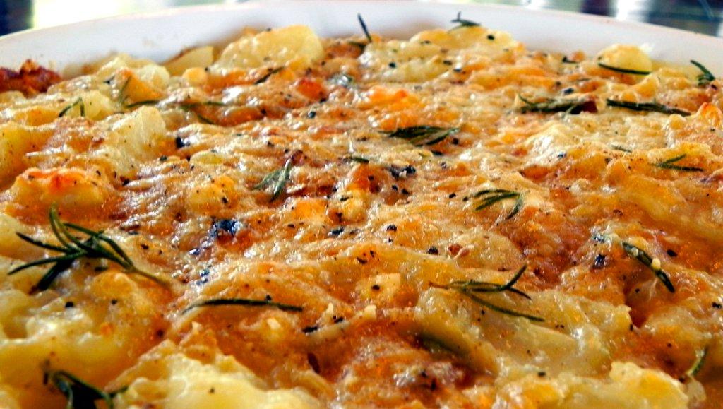 Овощной гратен с соусом бешамель  | Французская кухня | Рецепт | Ресторан дома
