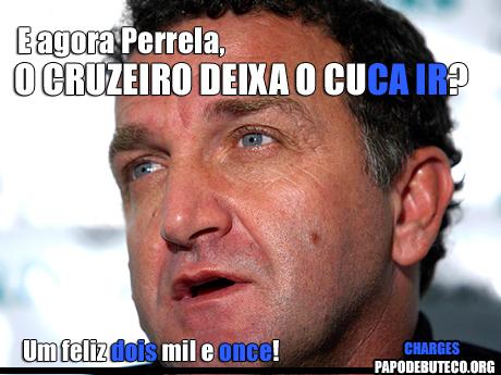 Charge Cruzeiro na Libertadores, #Chupacruzeiro, Chora Marias, Cruzeiro e Once Caldas, Feliz 2 mil e Once