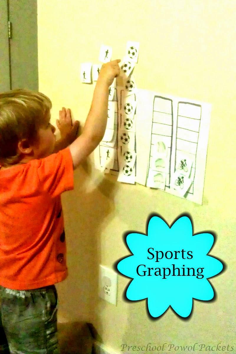 sports theme preschool lesson preschool powol packets
