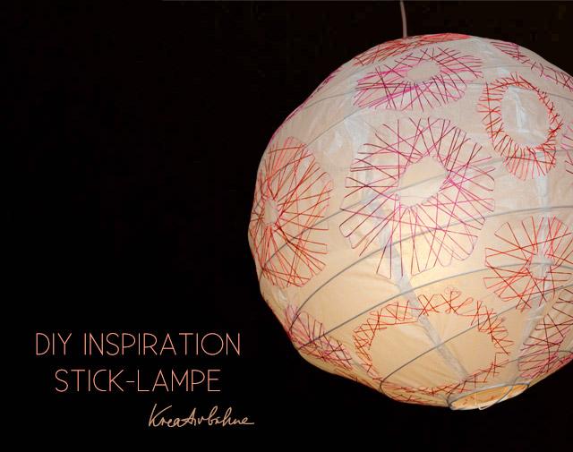 diy inspired stick lampe selber machen diy blog von anastasia. Black Bedroom Furniture Sets. Home Design Ideas