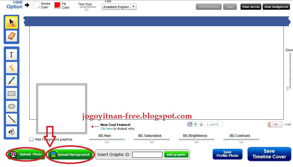 Cara Mengedit/Menggabungkan Timeline Cover Facebook Dengan Foto Profil