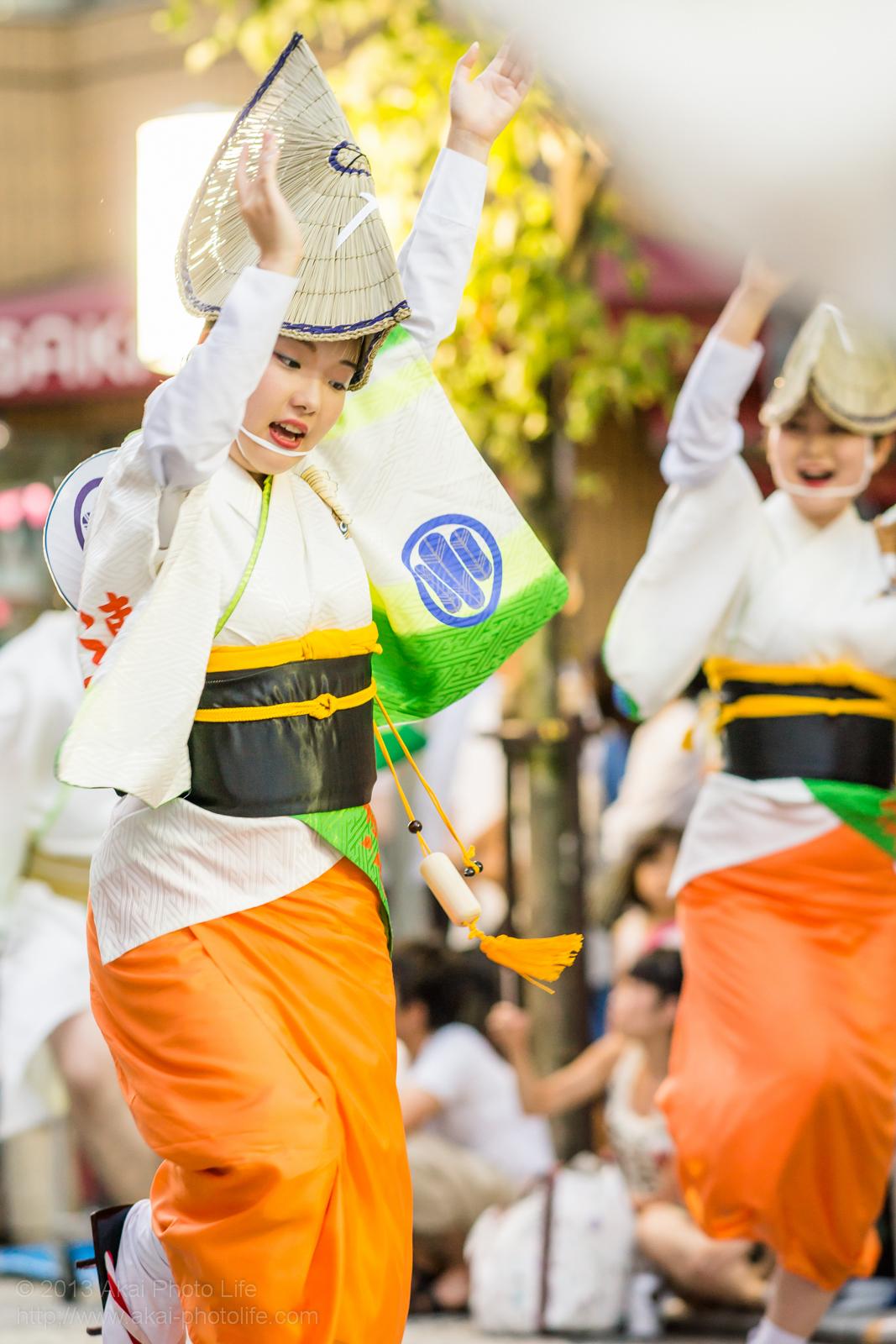 三鷹阿波踊り、みたか連の女踊り
