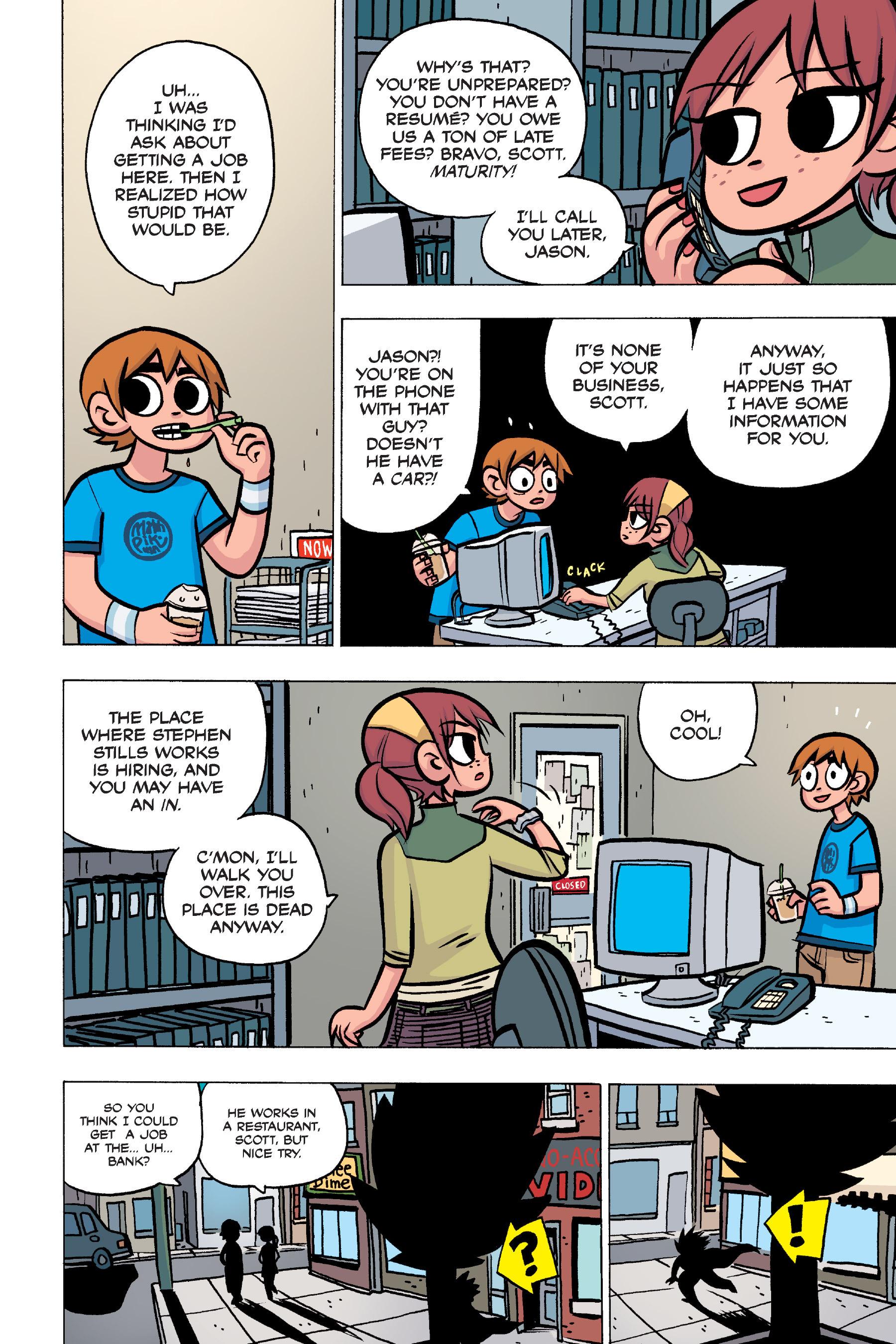 Read online Scott Pilgrim comic -  Issue #4 - 62