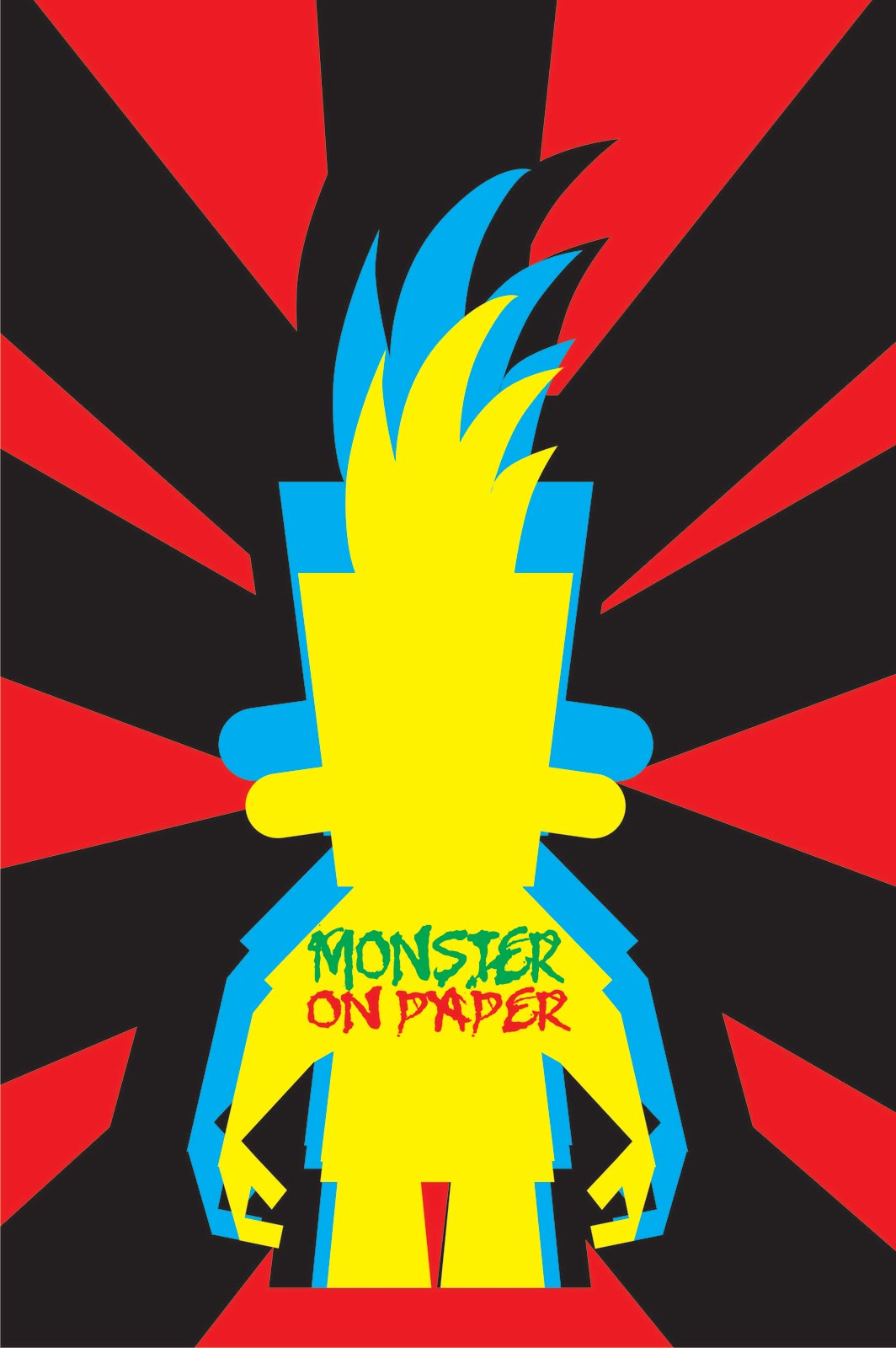 monster on paper