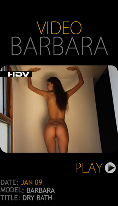 PhDromm-09 Barbara - Dry Bath (HD Video) 11060