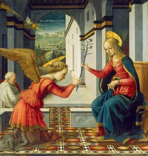 Az angyali üdvözlet - Üdvözlégy