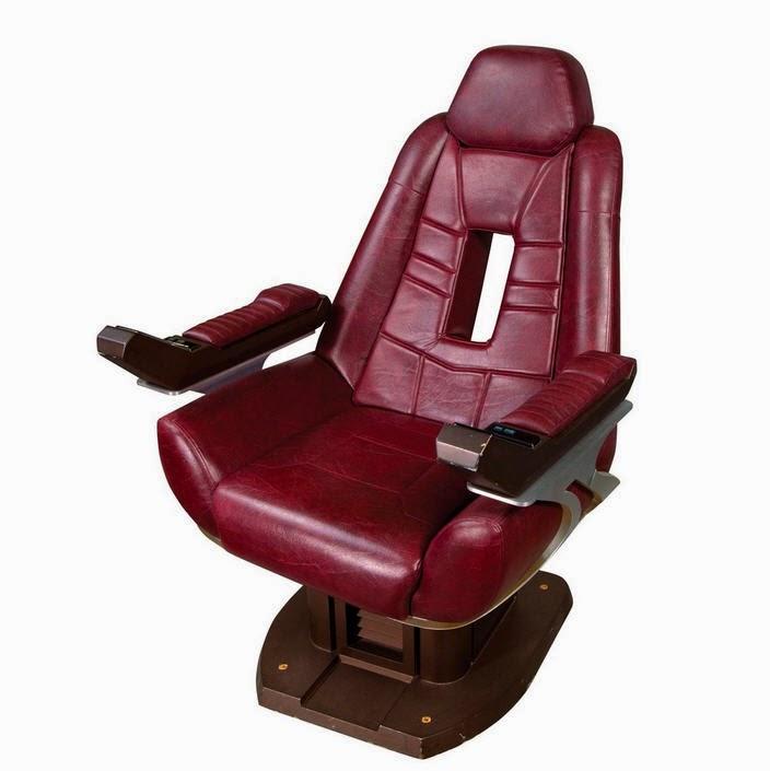 Star Trek Prop Costume Auction Authority Jean Luc Picards – Star Trek Captain Chair