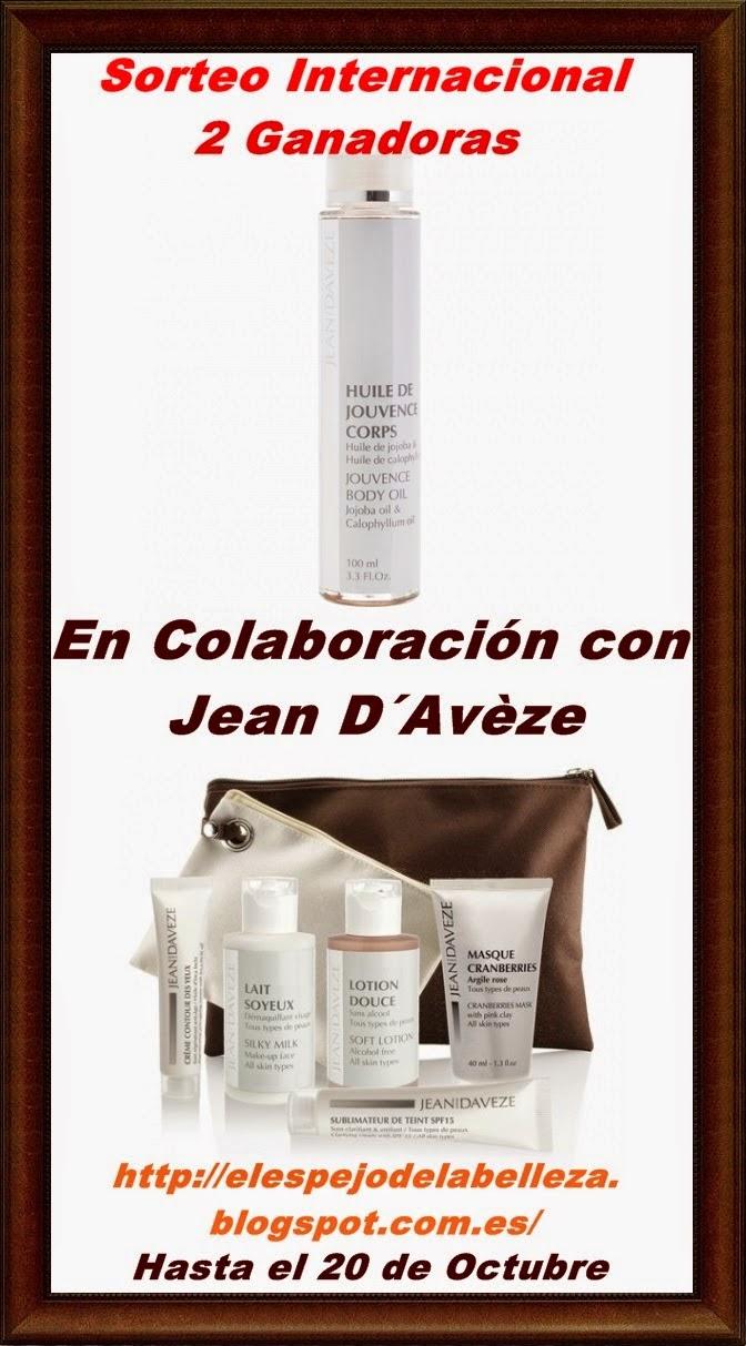 Sorteo Internacional Jean d´Avèze, 2 ganadoras!!.