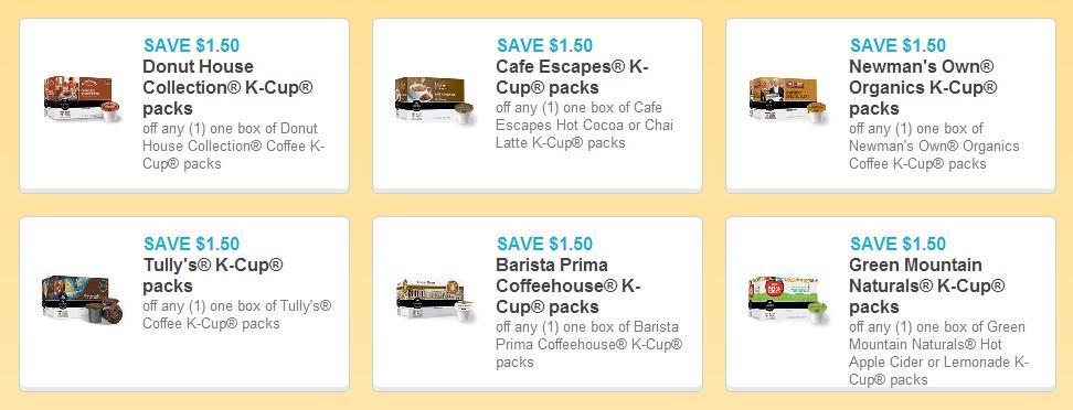 Kcup coupons