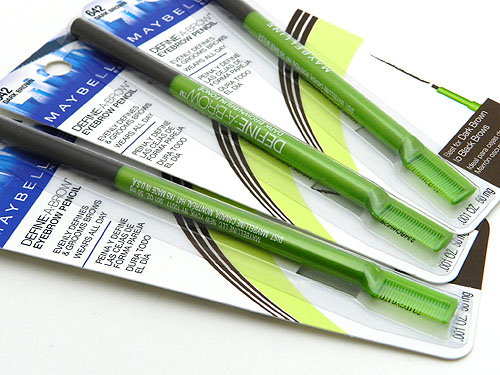maybelline define a brow pencil