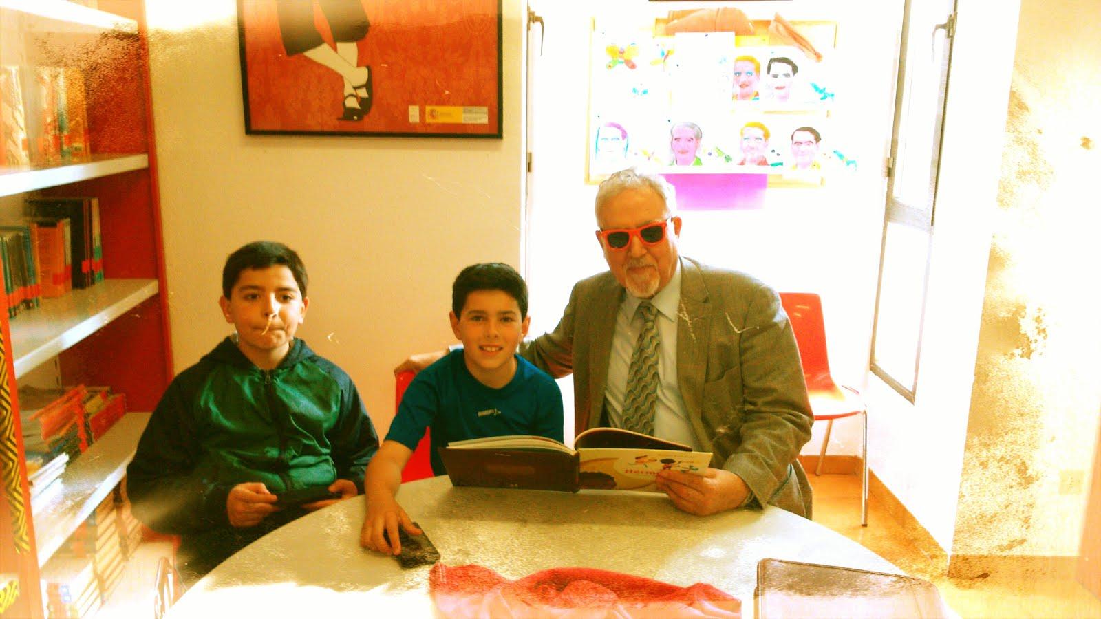 ANTONIO ILLÁN, TALLER SOBRE DON QUIJOTE DE LA MANCHA, 15/04/2015