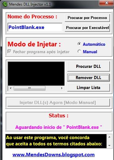 Mendenes DLL Injector v1.1