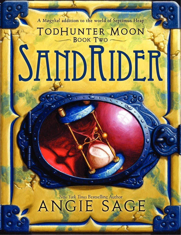 TodHunter Moon: SandRider by Angie Sage