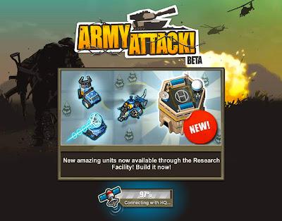 army attack juego google+