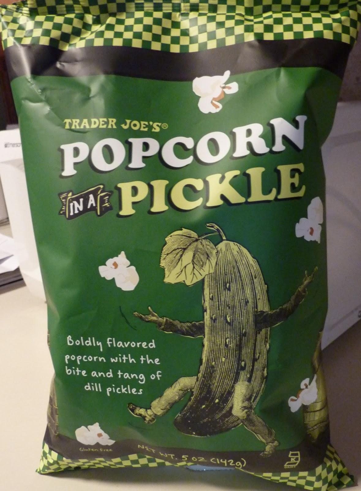 Auu >> What's Good at Trader Joe's?: Trader Joe's Popcorn in a Pickle