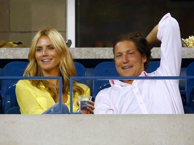 Heidi Klum and her boyfriend, Vito Schnabel