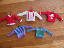 Mini Sweater Ornaments