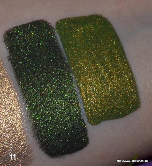 {Swatches} Fyrinnae Pigmente - Fyrinnae Pigment Swatches
