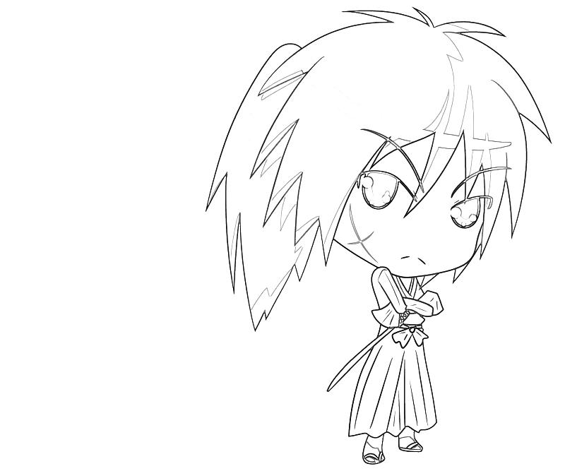 coloring pages for rurouni kenshin - photo#25
