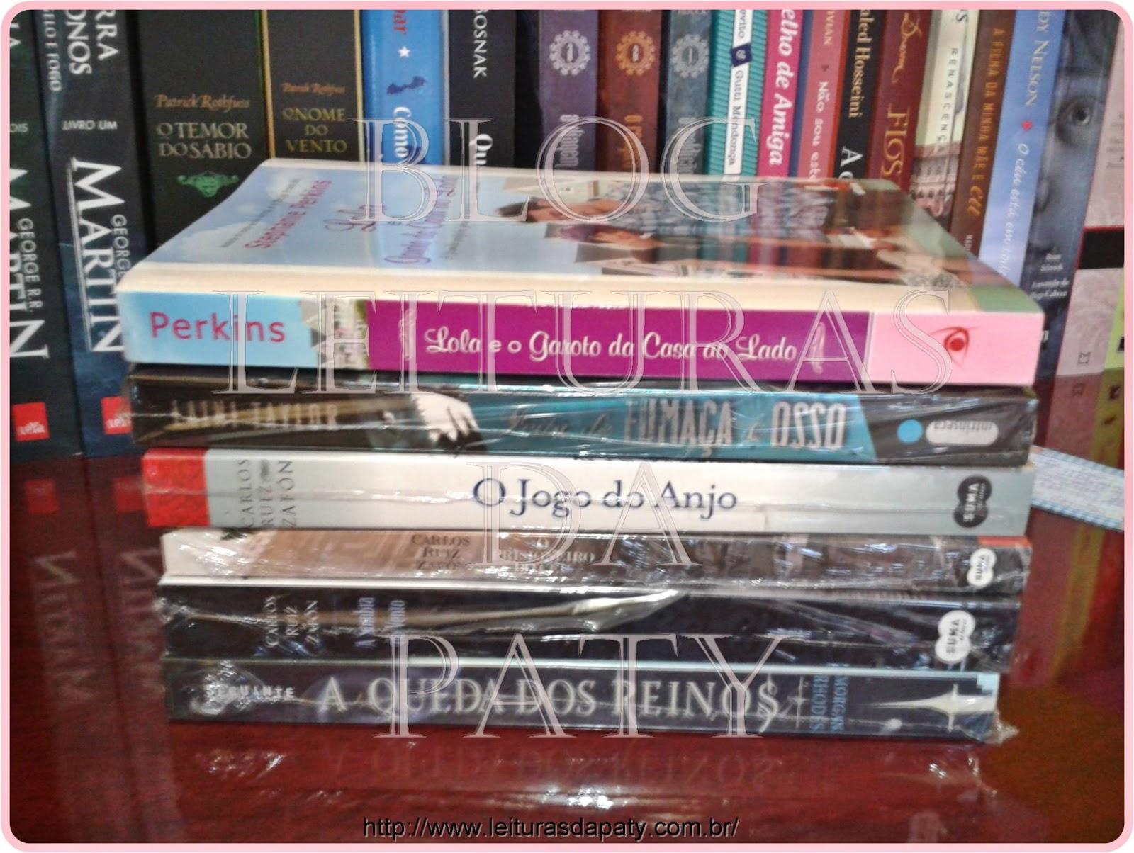 Livros na Estante - Blog Leituras da Paty