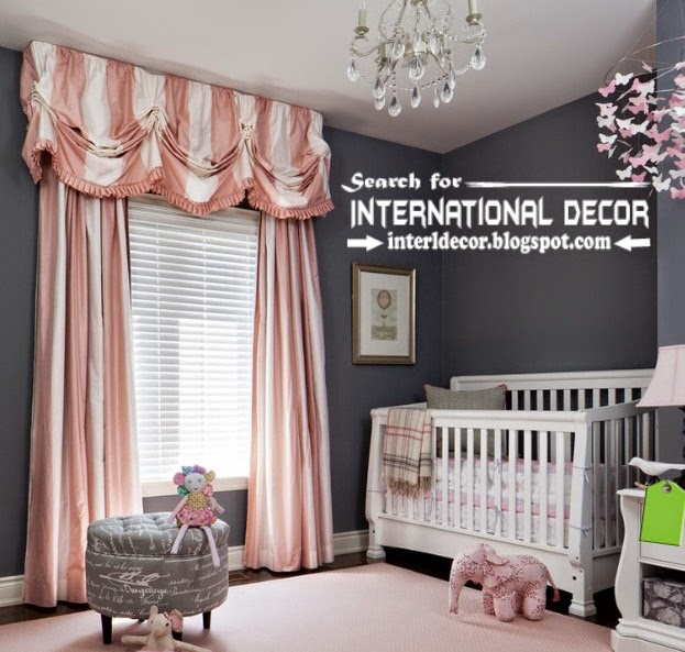 Best Modern curtain designs 2015 curtain ideas, striped curtains for kids bedroom