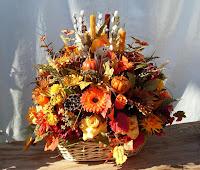 Autumn Basket Arrangements2