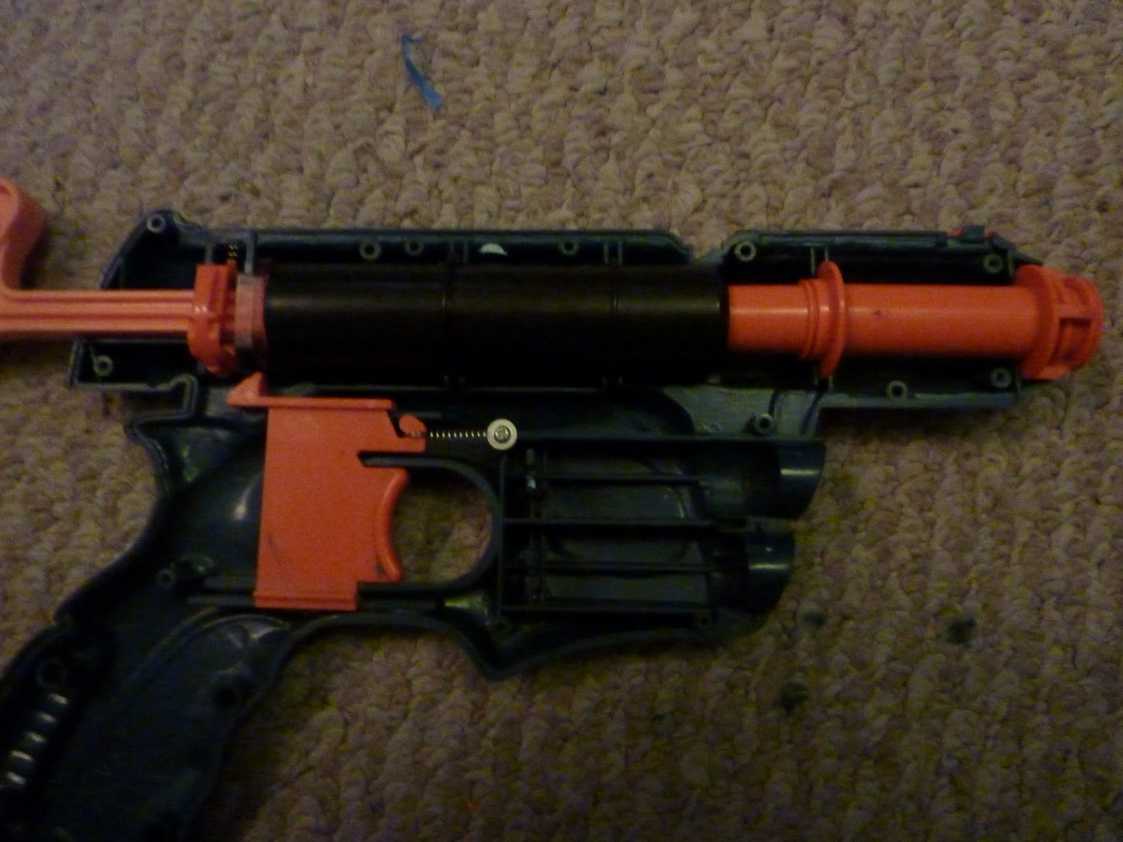 how to put a nerf gun back together